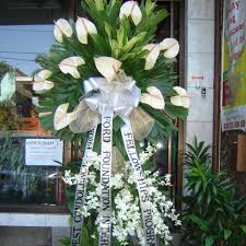floral arrangements for funeral funeral flower delivery philippines