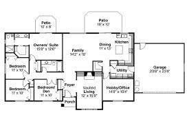 ranch house plans elliot 30 278 associated designs