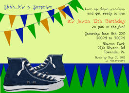 design simple 13th birthday party invitations templates free