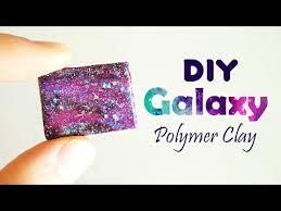 diy galaxy polymer clay tutorial youtube polymer clay