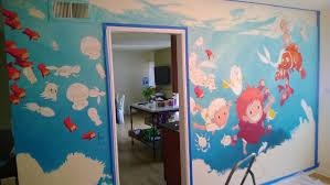 ghibli pixar disney undersea mural i painted for my daughter s 2nd ghibli pixar disney undersea mural i painted for my daughter s 2nd birthday