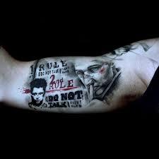 70 fight club tattoos for men masculine design ideas next luxury