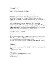 tutorial java web dynpro e catt tutorial