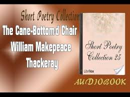Vanity Fair Chapter Summaries The Cane Bottom U0027d Chair William Makepeace Thackeray Audiobook