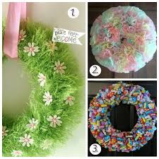 easter wreath tutorials for gorgeous door decor blissfully domestic