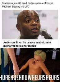 Anderson Silva Meme - dopl3r com memes brasileiro já está em londres para enfren