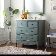 bathroom ideas antique gray bathroom vanity near small table on