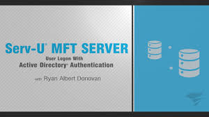 serv u mft server user logon with active directory authentication