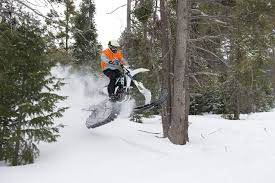 2017 timbersled snow bike ride review cycle world