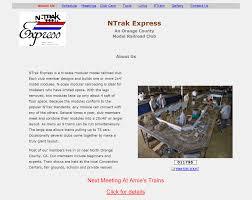 ntrak express u2013 studio l web designs