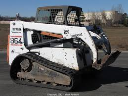skid steer bobcat tracked skid steer 108 bobcat tracked skid