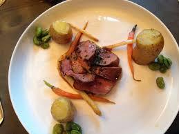 la cuisine de mon pere magret de canard asperges fèves des marais picture of la