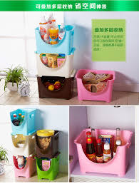 stackable storage rack finishing frame of fruits and vegetables