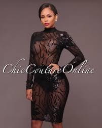 caleb rose gold sequins semi sheer open back dress