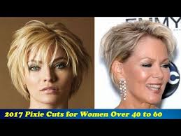 pictures of pixie haircuts for women over 60 2017 pixie haircuts for women over 40 to 60 youtube