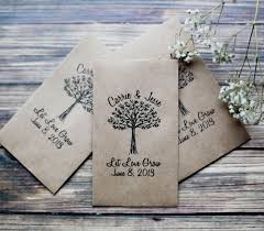 wedding seed packets flower packets for wedding favors wedding flower seed packets