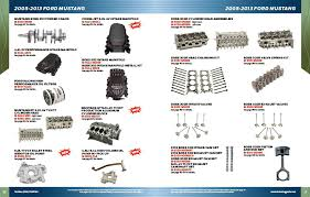 2005 ford mustang performance parts ford racing performance parts releases 2013 catalog