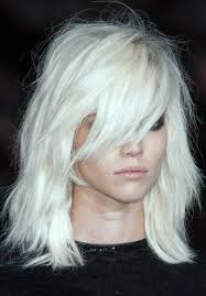 messy white blonde locks we love pinterest white blonde
