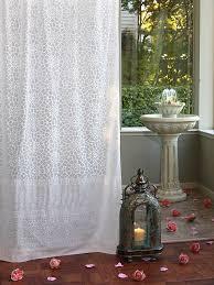 Tab Top Sheer Curtain Panels Saffron Marigold Royal Mansoor White Sheer Curtain Panel