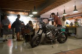 wrench against the machine launch party at deus ex machina in la