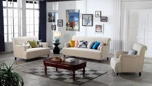 canap beige contemporain moderne de stockage de velours tissu canapé beige salon