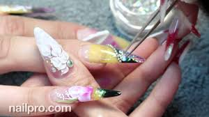 Flower Pros - ann chang behind the nail pros flower nails youtube