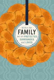 challah bread rosh hashanah card for family greeting cards