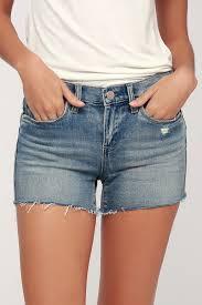 light wash denim shorts blank nyc essex light wash denim shorts cutoff shorts