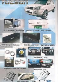 hyundai tucson 2007 accessories romyscar website