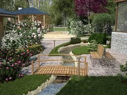 Garden Backyard Ideas Great Backyard Landscape Ideas Slodive Regarding Great Backyard