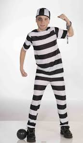 Prisoner Halloween Costumes Creepy Scared Prisoner Halloween Makeup Halloween