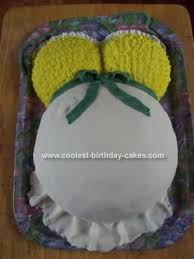 cool homemade baby shower belly cake last minute homemade and
