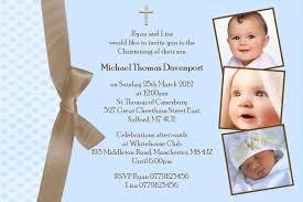 personalised boy photo christening invitations design 4