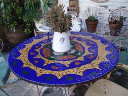 Mosaic Top Patio Table 84 Best Tile Top Patio Table Images On Pinterest Patio Table