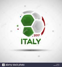 Flag Of Itali Football Championship Banner Flag Of Italy Vector Illustration