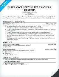 insurance cv examples insurance agent resume insurance agent resume sample resume