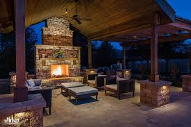 friday favorites outdoor fireplace lighting