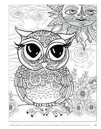 coloring page for adults owl elegant owl coloring pages pdf and coloring page for adults owl
