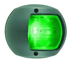 perko led navigation lights led navigation light for vertical mount starboard green 1st relief