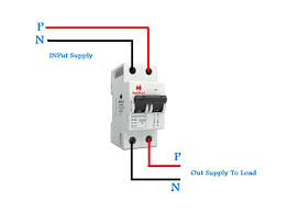 double pole breaker wiring in urdu hindi video tutorial