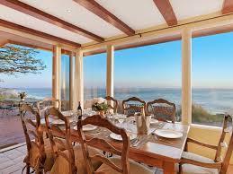 Western Dining Room Table by Romantic Malibu Celebrity Retreat Homeaway Western Malibu