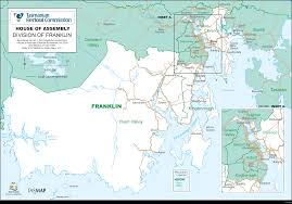 Franklin Maps Tasmanian Electoral Commission