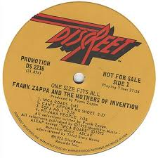 Sofa Frank Zappa Frank Zappa One Size Fits All Us Promo Vinyl Lp Album Lp Record