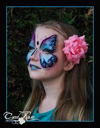 Halloween Butterfly Makeup by Butterfly Face Paint Vlinder Schminken Facepaint Schmink By