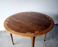 lane acclaim round dining table manly vintage