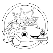 team umizoomi coloring pages print