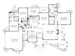 Home Design Single Story Plan by House Plan Plans With Porches Home Design Ideas Luxury One Story