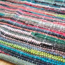 Colorful Bathroom Rugs Shop Woven Rag Rug On Wanelo