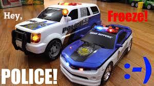 police camaro kids u0027 toy cars k9 unit police suv and chevrolet camaro police car