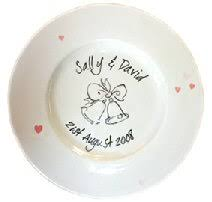 wedding signing plate home page